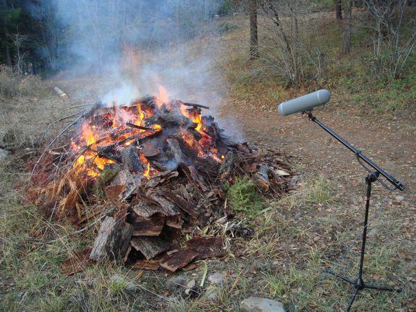 Fire Recording 2009 3