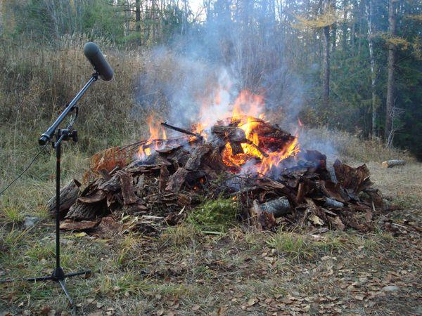 Fire Recording 2009 2