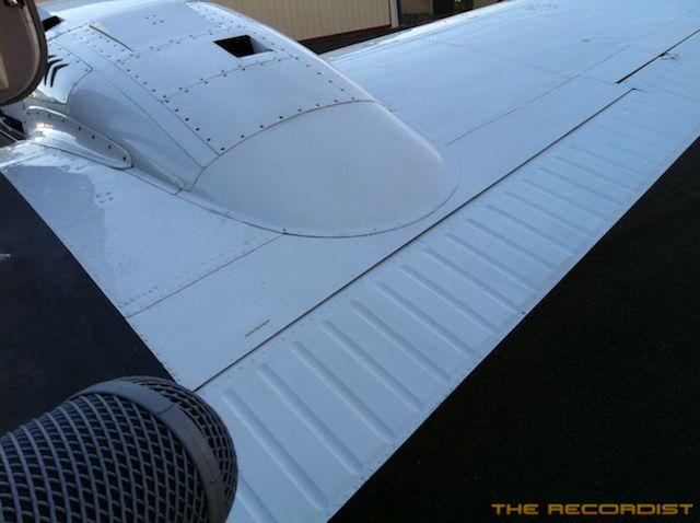 Beech 58P 2011 Wing Photo