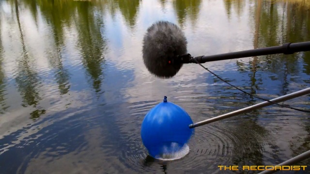 Water Recording 2012