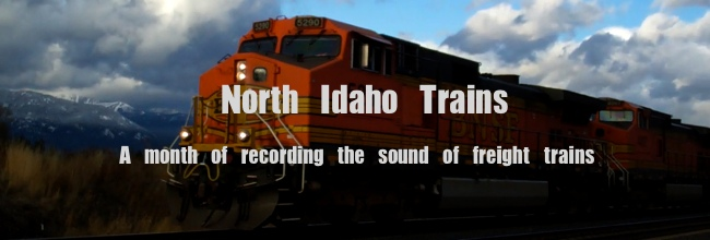 North Idaho Trains Banner