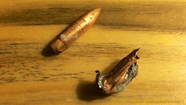 Bullets after shooting