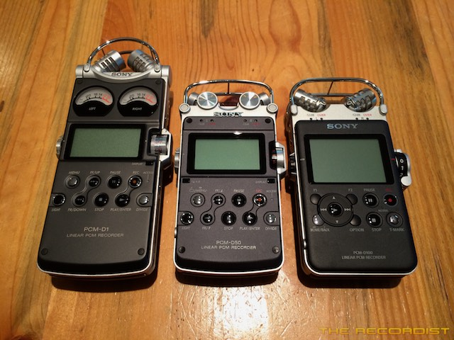Sony PCM D Series Recorders