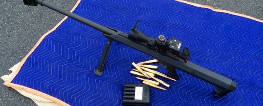 Recording The Barrett 99 50 BMG Rifle
