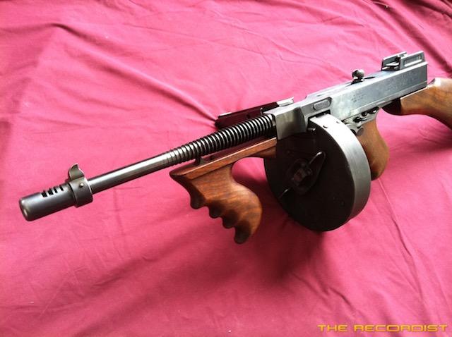 thompson machine gun hd pro