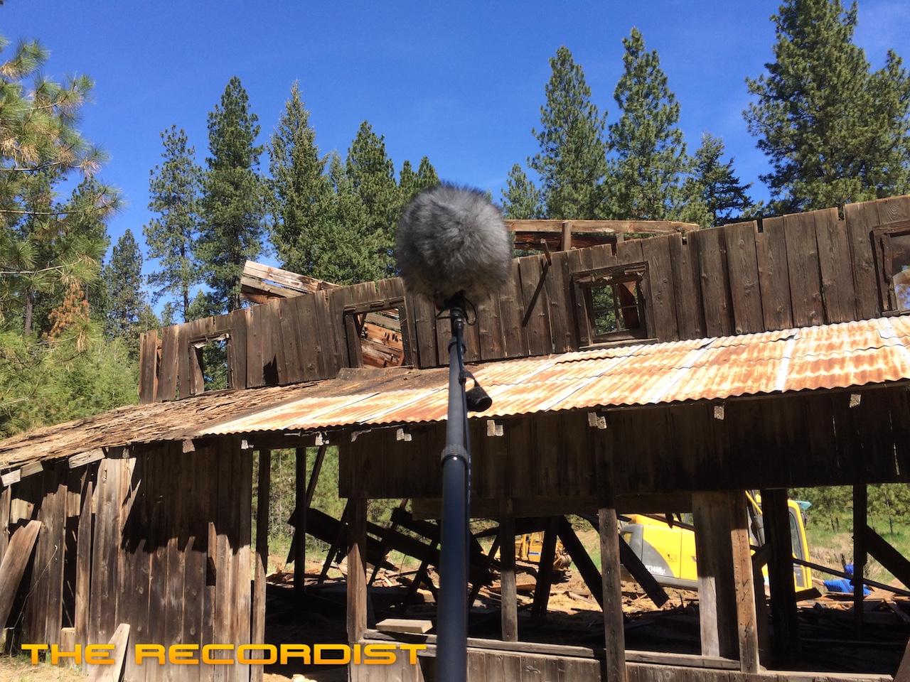 Barn Destruction Sound Effects | The Recordist